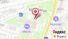 Гостиница Июль на карте