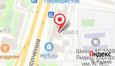 Гостиница Хорошевская на карте