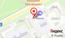 Парк-Отель Фили на карте