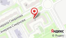 Апартаменты InnDays Смирнова на карте