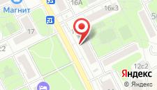 Отель Ананас 2 на карте