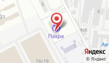 Гостиница Пахра на карте