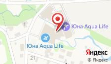 Загородный клуб Юна-Лайф на карте