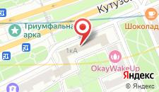 Мини-отель Круази на Кутузовском на карте