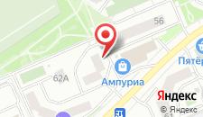 Отель Уют на карте