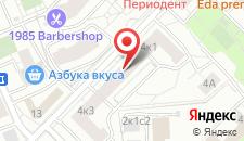Отель Мосфильм на карте