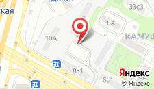 Хостел Moscow City на карте