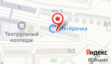 Отель Фишка на карте