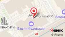 Апарт-отель Sky Москва Сити на карте