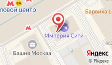 Хостел ICON на карте