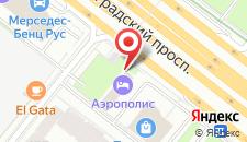 Гостиница Аэрополис на карте