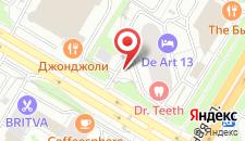 Бутик-Отель Дамари на карте