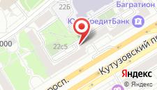 Гостевой дом Kutuzov City на карте