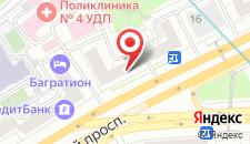 Хостел Кутузов на карте