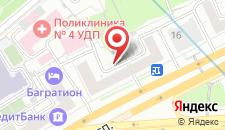 Гостевой дом Экспо на Киевской на карте