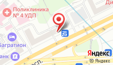 Гостевой дом Экспо на Кутузовском на карте
