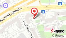 Хостел Рус-Киевская на карте