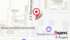 Отель Экспотель на карте