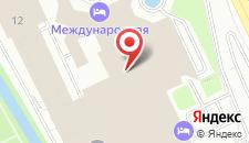 Апарт-отель Международная-2 на карте