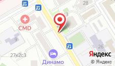 Отель Минима Динамо на карте