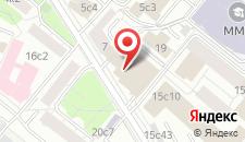 Гостиница Скаковая на карте