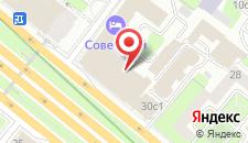 Исторический отель Советский на карте