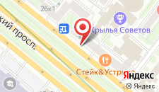 Мини-гостиница Белорусская на карте
