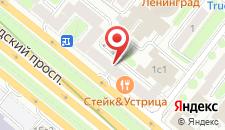 Гостевой дом Белорусская на карте
