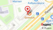 Отель Кастелло на карте