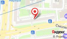 Отель Бамбук на Смоленской на карте