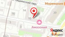 Отель Апельсин на Белорусской на карте