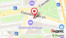Отель Золотое кольцо на карте