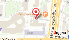 Отель People Бизнес Новинский на карте