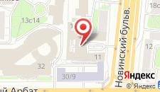 Гостиница PEOPLE Business Novinsky на карте
