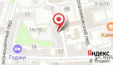 Гостиница Moscow Home Hostel на карте