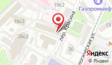Хостел Авеню на карте
