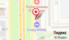 Отель Погости на Алтуфьевском на карте