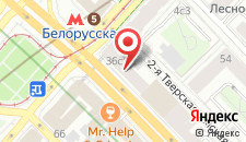 Хостелы Рус - Тверская-Ямская на карте