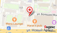 Отель Матрица на карте