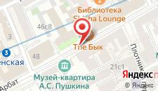 Отель Треффен на карте