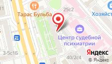Отель Heart of Moscow на Смоленке на карте