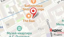 Отель Пилигрим Арбат на карте