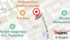 Гостиница Булгаков на карте