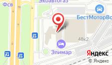 Отель Полярис на карте