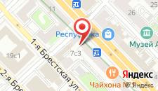 Отель Марсель на Маяковской на карте