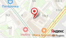 Хостел Белорусский вокзал на карте