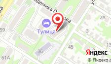 Отель Талисман на карте