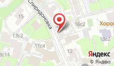 Хостел GindzaHostel Spiridonovka на карте