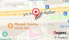Апартаменты Атланта Новый Арбат на карте