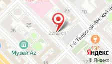 Гостиница М-Отель на карте